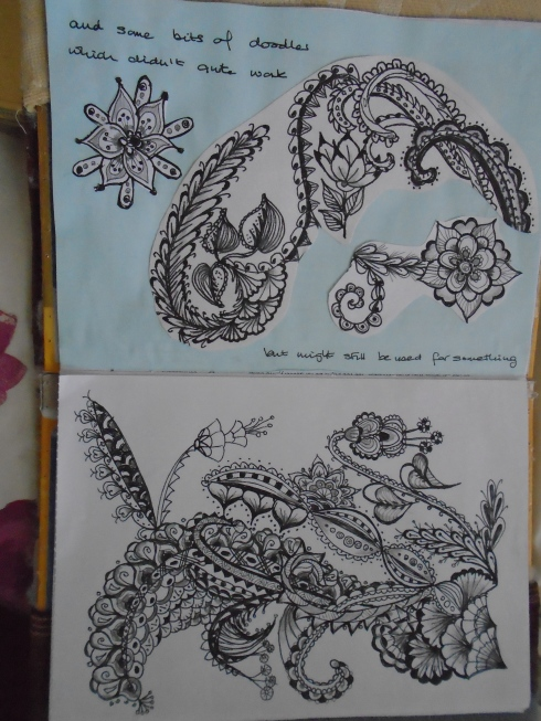 A4 doodles